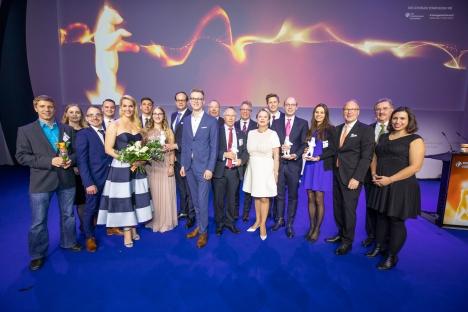 Gewinner des deutschen Handelspreises 2019 (Foto: Jörg Sarbach)